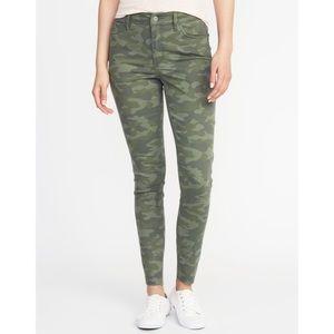 [Old Navy] Camo Rockstar Jeans
